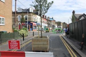 Pembroke Road/grove Road closure trial