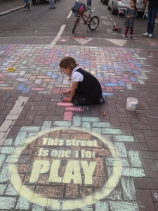 Play Street - This street is open for play