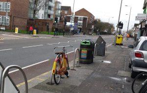 parking & bin