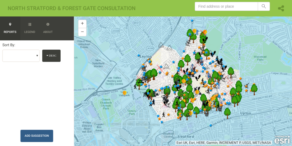 Liveable Neighbourhoods Consultation - Interactive Map